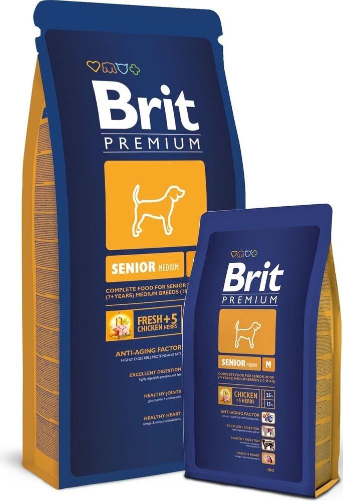 Brit Premium Senior M balení: Brit Premium Senior M 3 kg