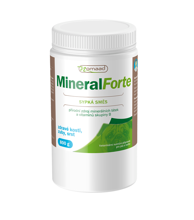 Nomaad Mineral Forte 800g SALE expirace 08/17