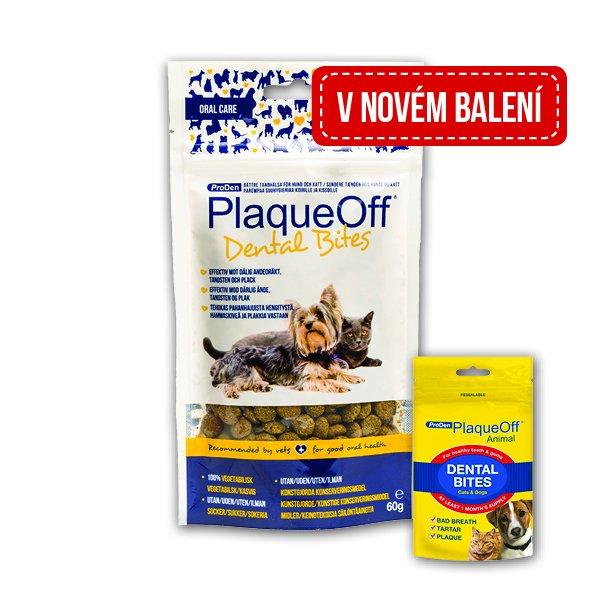 SwedenCare AB PlaqueOff Dental Bites 60g SALE expirace 10/2017