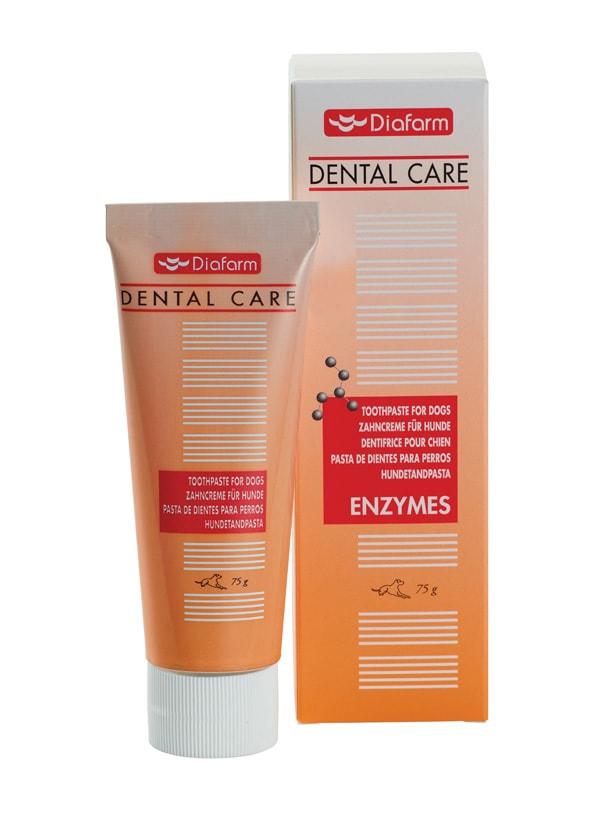 Diafarm Zubní pasta s enzymy 75g +kartáček