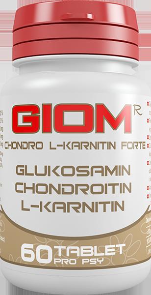 GIOM ERA Chondro L-karnitin Forte 60tbl
