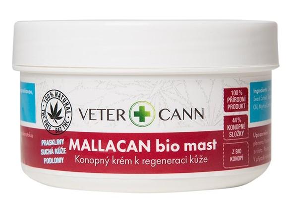 Mallacan BIO mast regenerace pokožky 100ml