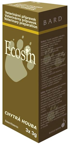 BARD Ecosin chytrá houba pro zvířata 3x3g