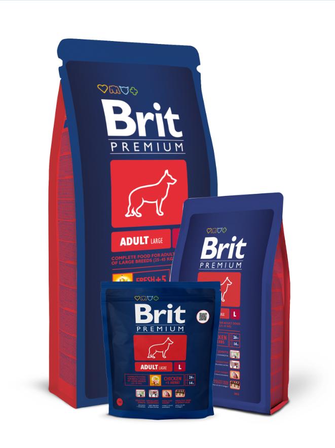 Brit Premium Adult L balení: Brit Premium Adult L 15kg