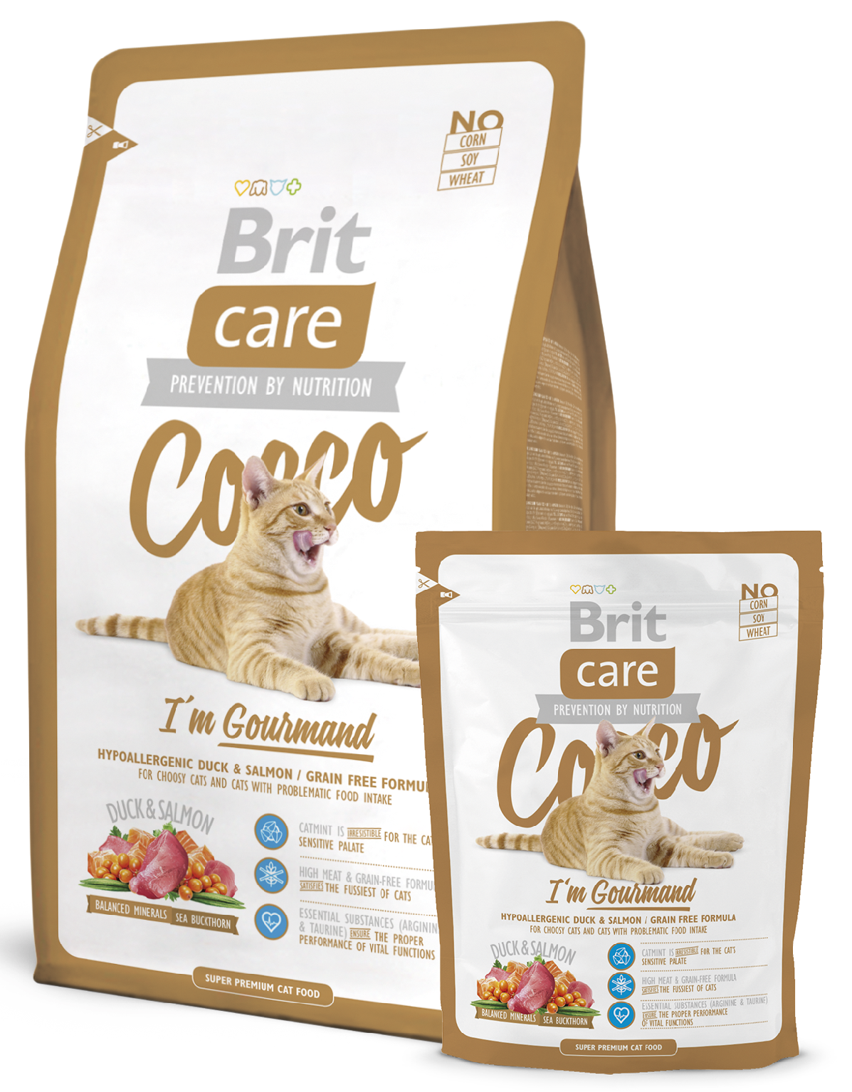 Brit Care Cat Cocco I'm Gourmand balení: Brit Care Cat Cocco I'm Gourmand 400g