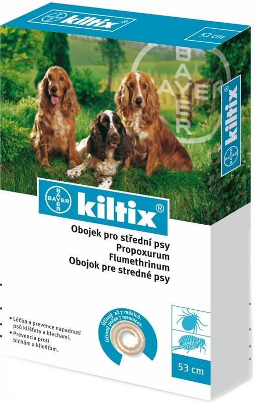 Bayer Kiltix Antiparazitní obojek 38cm balení: kiltix obojek pro střední psy 53 cm