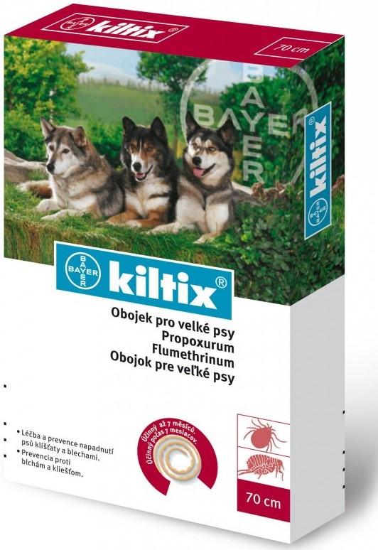 Bayer Kiltix Antiparazitní obojek 38cm velikost: kiltix obojek pro velké psy 70 cm