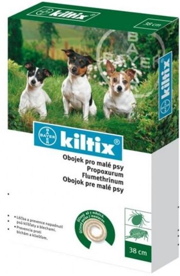 Bayer Kiltix Antiparazitní obojek 38cm velikost: kiltix obojek pro malé psy 38 cm