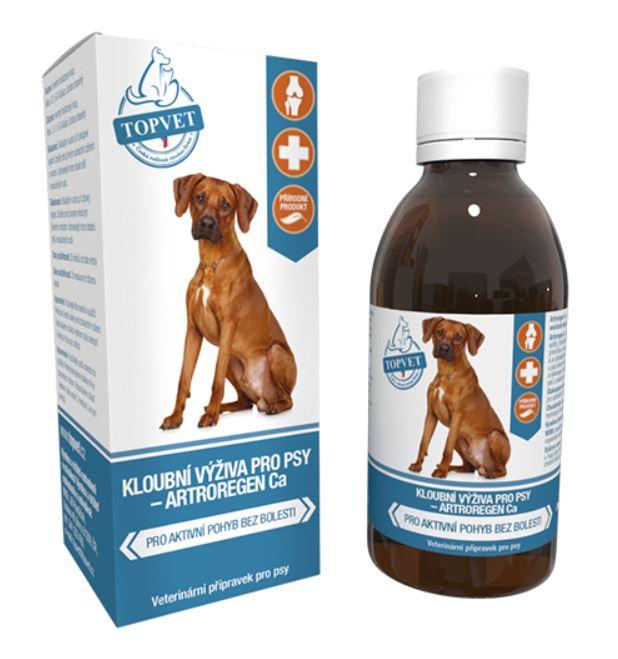 Topvet for pets Topvet Kloubní výživa sirup pro psy 200ml