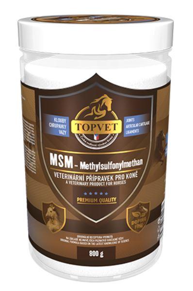 Topvet MSM - methylsulfonylmethan 800 g