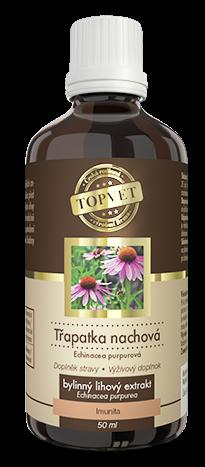 Topvet Třapatka nachová - Echinacea tinktura - kapky 50 ml