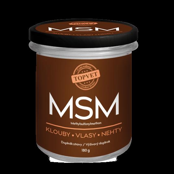 Topvet MSM Methylsulfonylmethan 180 g