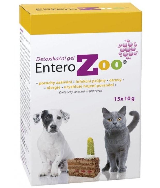 Bioline Products - Entero ZOO detoxikační gel 15x10g balení: 15 x 10g