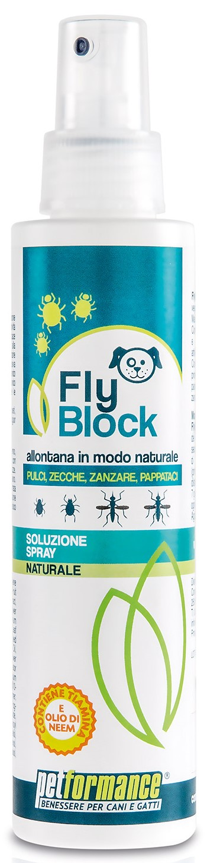 FlyBlock přírodní repelent pro psy balení: FlyBlock Dog přírodní repelent 150ml