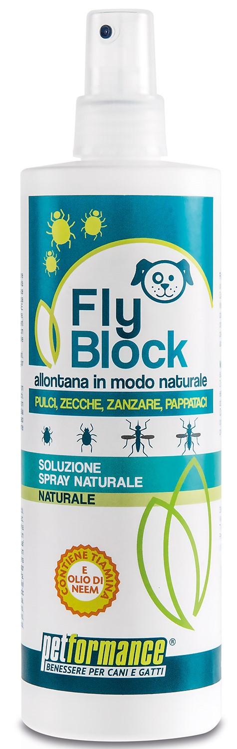 FlyBlock přírodní repelent pro psy balení: FlyBlock Dog přírodní repelent 400ml