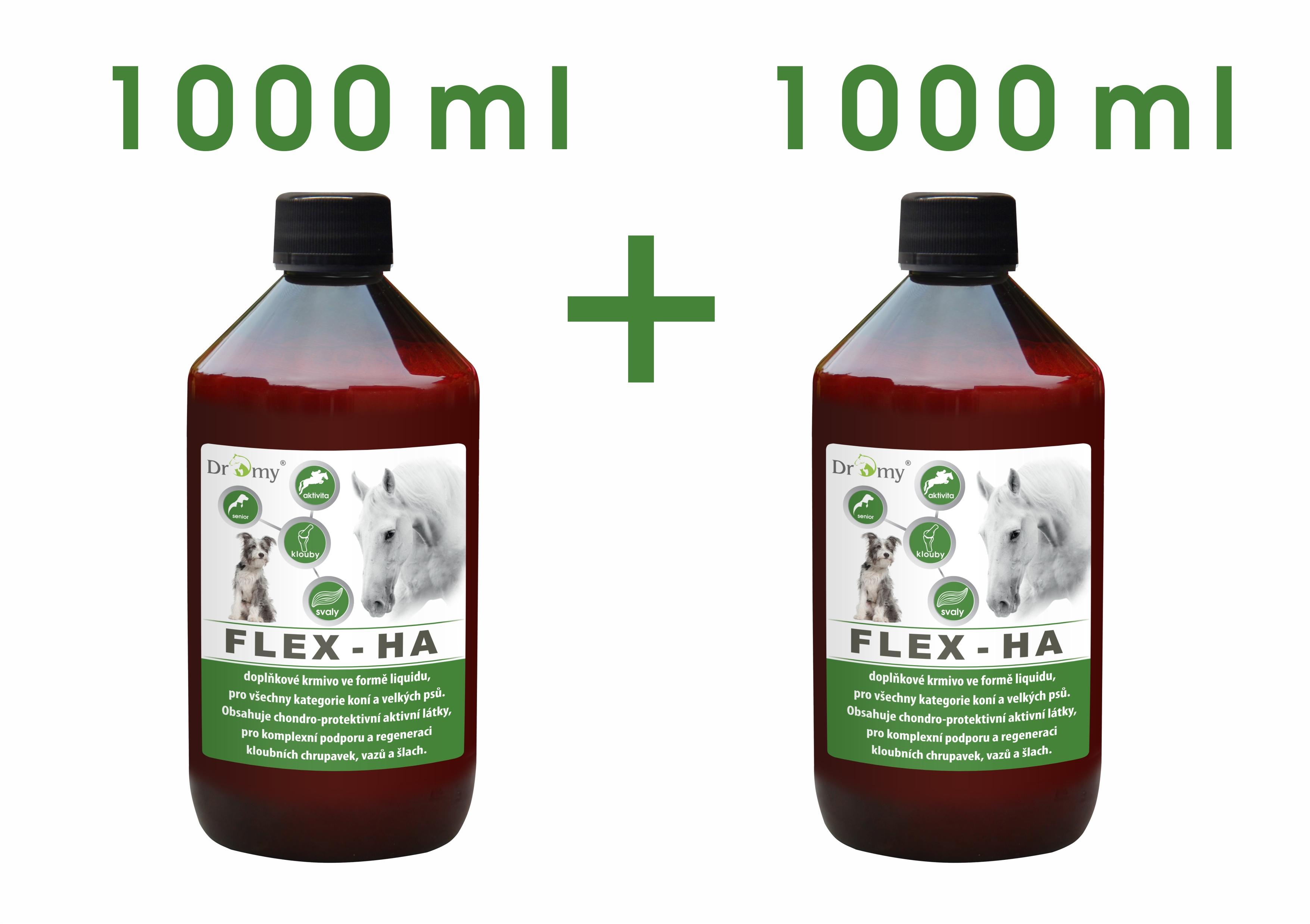 Dromy Flex HA 1000 + 1000 ml ZDARMA