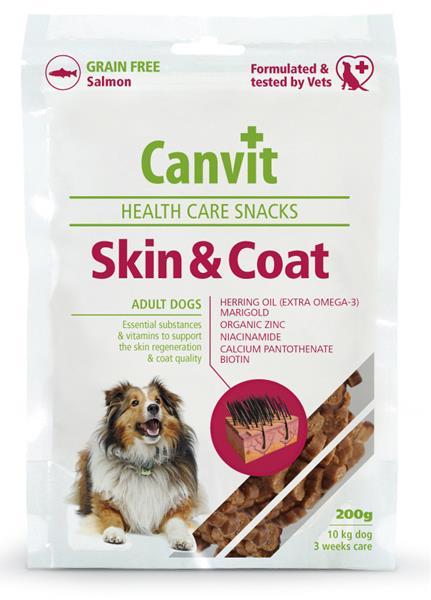 Canvit Skin & Coat Snacks 200 g