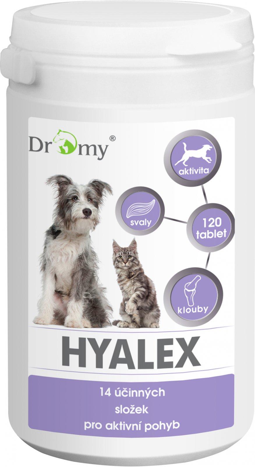 Dromy Hyalex 120 tbl.