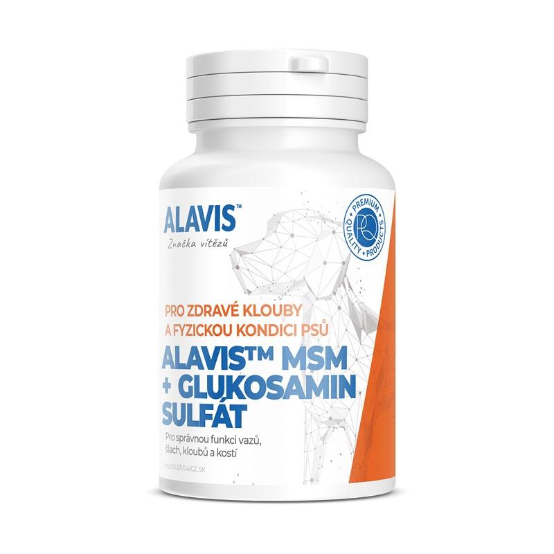 Alavis MSM+Glukosamin sulfát pro psy 60 tbl