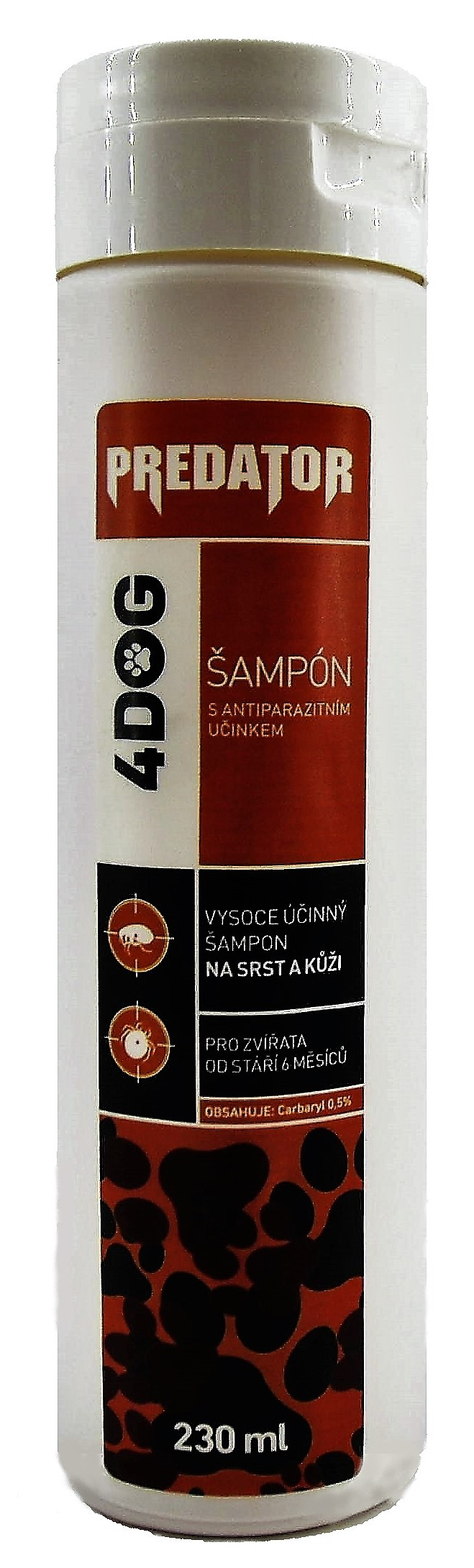 Predator šampon 4DOG 250 ml