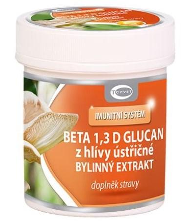 Topvet Beta 1,3 D glucan bylinný extrakt 60 tbl