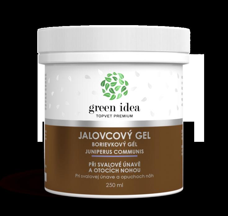 Topvet jalovcový masážní gel 250ml