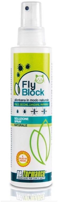 FlyBlock přírodní repelent pro kočky 150ml