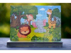 Puzzle Džungle