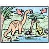 Vodnaya raskraska Dinosauri 02