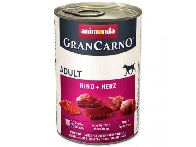 Animonda Gran Carno hovězí + srdce