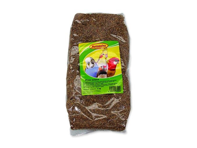 Proso AVICENTRA zelené 1 kg