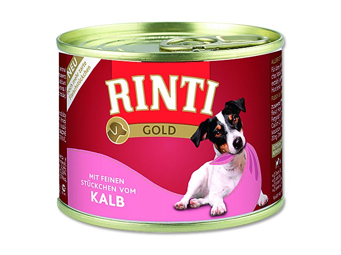Rinti Konzerva Gold telecí 185 g
