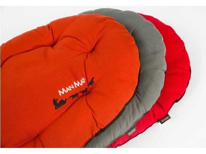 Polštář ManMat Komfort Červeno - černý