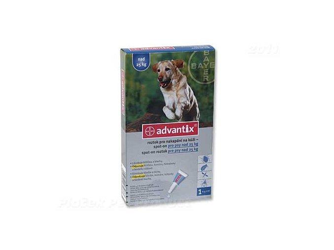 BAYER Advantix Spot-On pro psy nad 25 kg (4ml)