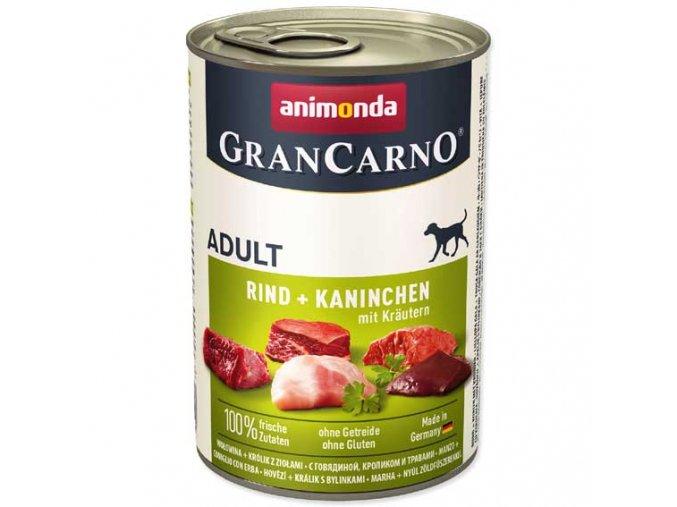Animonda Gran Carno králík + bylinky