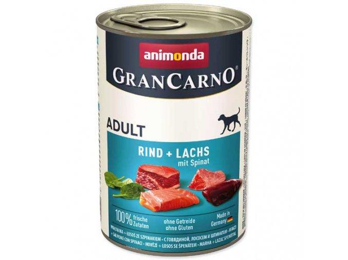 Animonda Gran Carno losos + špenát