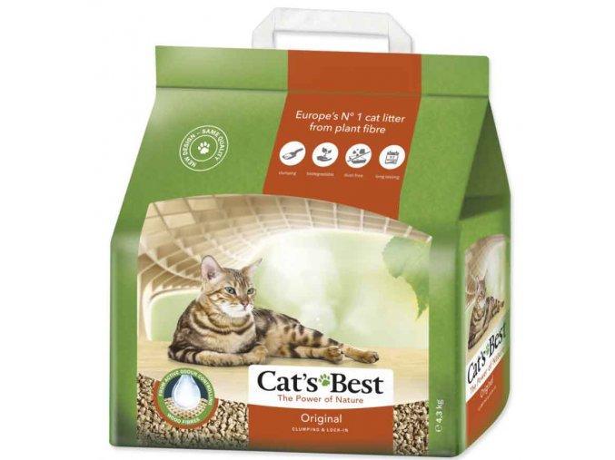 Kočkolit Cats Best ÖkoPlus 10l