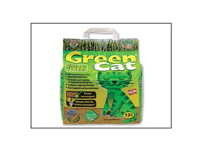Kočkolit GREEN CAT 12l