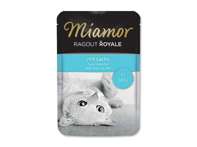 MIAMOR kapsička Ragout Royale losos v želé 100g