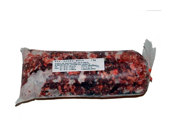 Hovězí hrubomleté 1 kg Axa