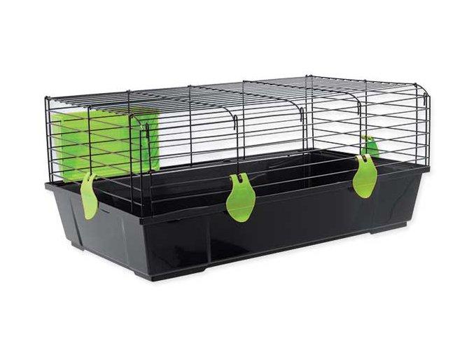 Klec SMALL ANIMAL Matěj černá se zelenou výbavou 80 cm