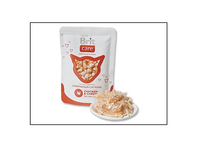 BRIT Care Cat Kapsička Chicken & Cheese 80 g