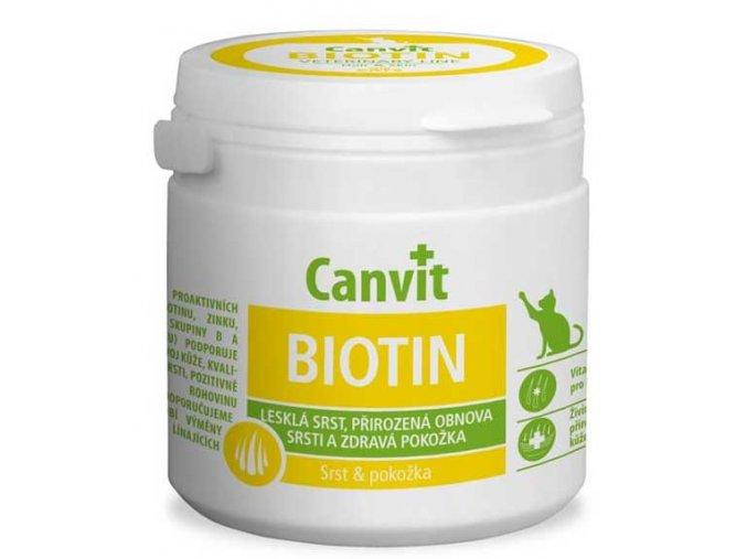 Canvit Biotin pro kočky tbl 100 g