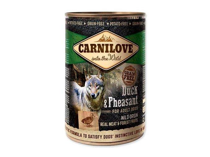 CARNILOVE Wild Meat Duck & Pheasant 400 g