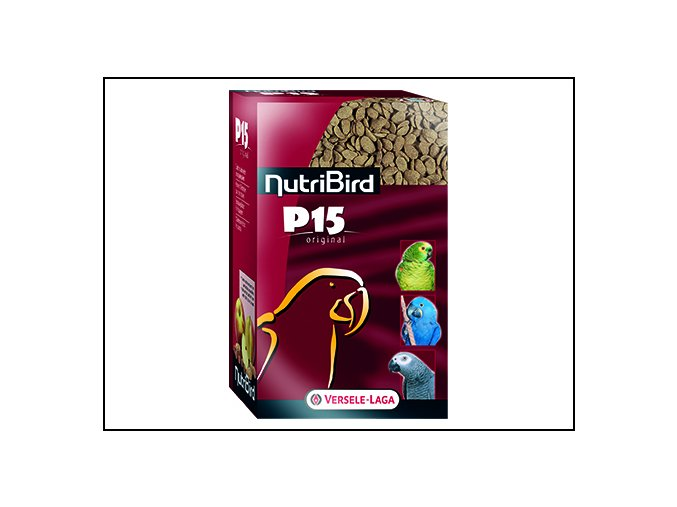 Nutri Bird P15 Original pro velké papoušky 1 kg