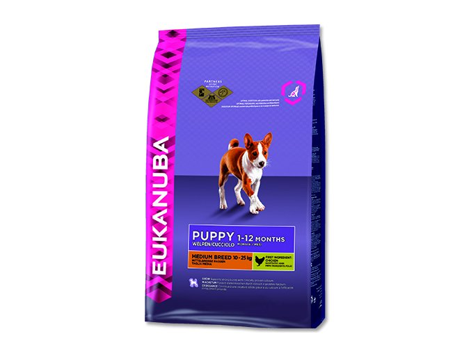 EUKANUBA Puppy & Junior Medium Breed 3 kg