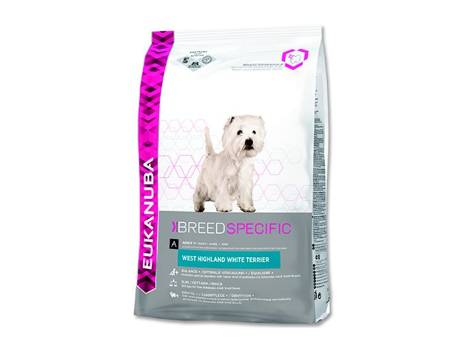 EUKANUBA West Highland a White Terrier 2,5 kg