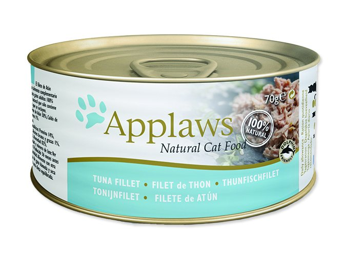 Applaws Cat Tuna Fillet & Cheese 70g