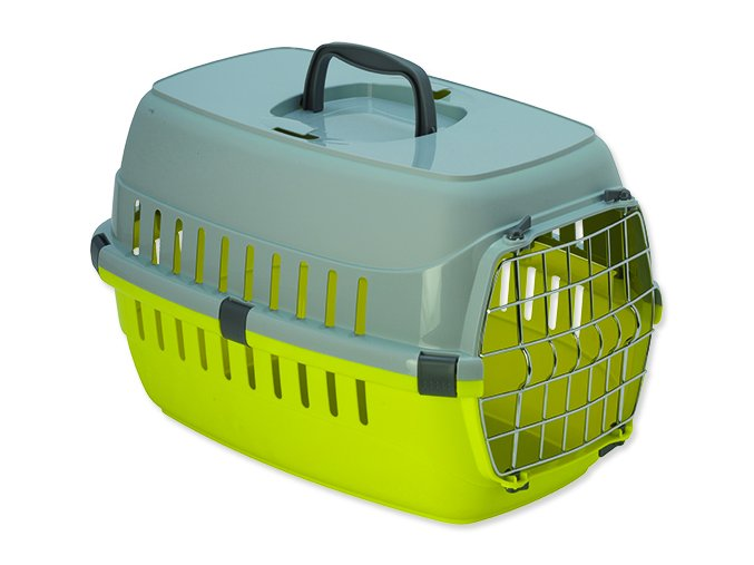 Přepravka DOG FANTASY Carrier žlutá 48,5 cm