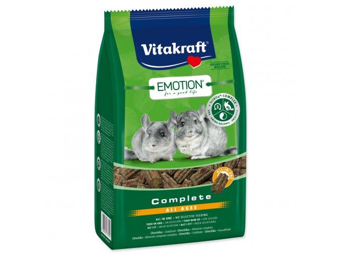 VITAKRAFT Emotion complete činčila 800g